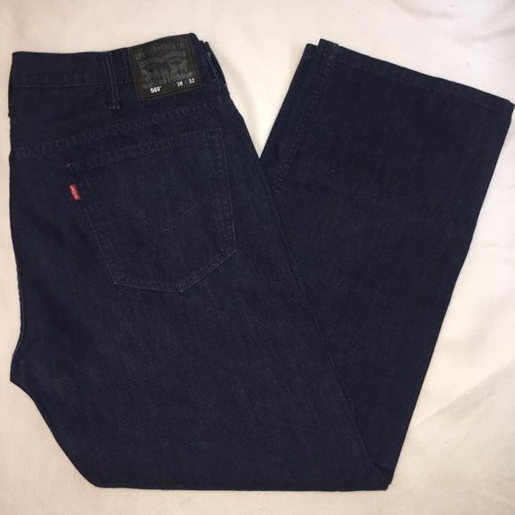 661eab3d Levi's Jeans | Levis 569 Loose Straight Dark Wash Denim | Poshmark